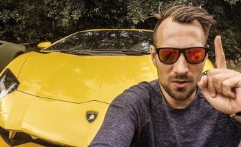 FK10 im Lamborghini über Sylt